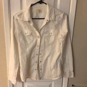 White Levi's button down